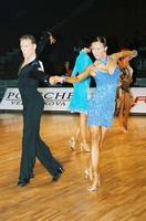 Jesper Birkehoj & Anna Anastasiya Kravchenko at World Amateur Latin Championships