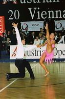 Jesper Birkehoj & Anna Anastasiya Kravchenko at Austrian Open 2001