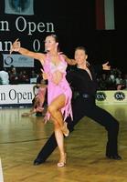 Jesper Birkehoj & Anna Anastasiya Kravchenko at Austrian Open Championships 2001