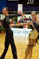 Ivan Bocharov & Josefina Ortova at Austrian Open 2006