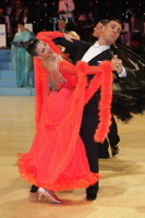 Angelo Madonia & Antonella Decarolis at UK Open 2013