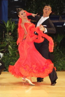 Angelo Madonia &amp; Antonella Decarolis at UK Open 2013