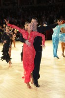 Ilia Russo & Oxana Lebedew at International Championships 2012
