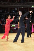 Ilia Russo &amp; Oxana Lebedew at International Championships 2012