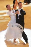 Simone Segatori & Annette Sudol at International Championships 2011