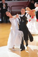 Simone Segatori & Annette Sudol at International Championships 2011