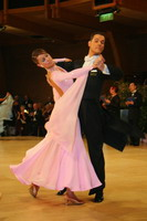 Simone Segatori &amp; Annette Sudol at UK Open 2005