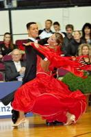 Simone Segatori & Annette Sudol at Austrian Open 2006