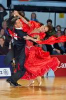 Simone Segatori & Annette Sudol at Austrian Open Championships 2006