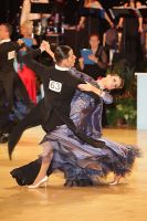 Simone Segatori & Annette Sudol at UK Open 2010