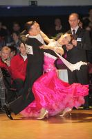 Nikolai Darin & Ekaterina Fedotkina at Antwerp Stars Cup