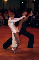 Cedric Meyer & Angelique Meyer at Blackpool Dance Festival 2005