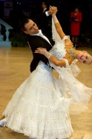 Daniele Gallaro & Kimberly Taylor at UK Open 2008