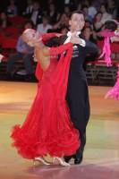 Daniele Gallaro & Kimberly Taylor at Blackpool Dance Festival 2010