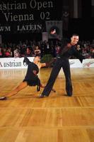 Eugene Katsevman & Maria Manusova at Austrian Open 2002