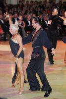 Alex Ivanets & Lisa Bellinger-Ivanets at Blackpool Dance Festival