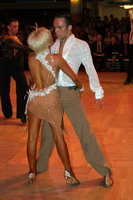 Alex Ivanets &amp; Lisa Bellinger-Ivanets at Blackpool Dance Festival 2005