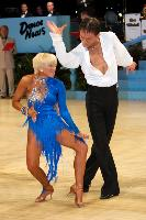 Alex Ivanets & Lisa Bellinger-Ivanets at UK Open 2006