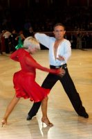 Alex Ivanets & Lisa Bellinger-Ivanets at The International Championships