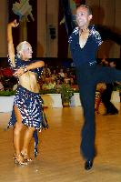 Alex Ivanets & Lisa Bellinger-Ivanets at Savaria 2003