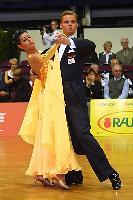 Andrea Zaramella & Letizia Ingrosso at Austrian Open Championships 2004