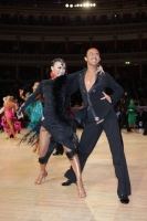 Alex Wei Wang & Roxie Jin Chen at International Championships 2011