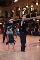 Alex Wei Wang & Roxie Jin Chen at Blackpool Dance Festival 2012
