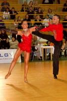 Sarunas Greblikas & Viktoria Horeva at Latvia Open 2006