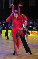 Sergey Sourkov & Agnieszka Melnicka at Austrian Open Championships 2002