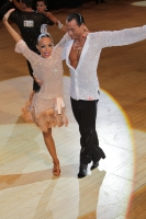 Sergey Sourkov & Agnieszka Melnicka at International Championships 2011