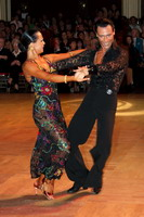 Sergey Sourkov &amp; Agnieszka Melnicka at Blackpool Dance Festival 2005