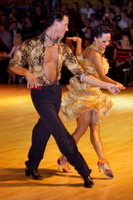 Sergey Sourkov & Agnieszka Melnicka at Dutch Open 2006