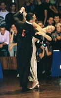 William Pino & Alessandra Bucciarelli at 15th German Open 2001