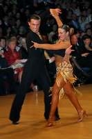 Evgeni Smagin & Rachael Heron at UK Open 2005
