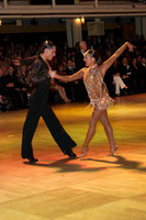 Evgeni Smagin & Rachael Heron at Blackpool Dance Festival 2005