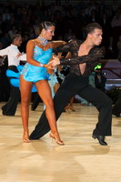 Evgeni Smagin & Rachael Heron at International Championships 2005