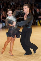 Evgeni Smagin & Rachael Heron at UK Open 2006