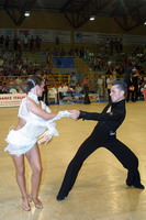 Evgeni Smagin & Rachael Heron at 19th Feinda - Italian Open 2002