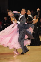 Qing Shui & Yan Yan Ma at UK Open 2012