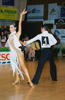 Vincent Simone & Flavia Cacace at Savaria 2001