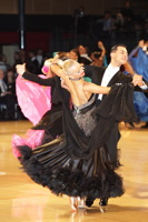 Oscar Pedrinelli & Kamila Brozovska at UK Open 2012