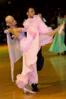 Oscar Pedrinelli & Kamila Brozovska at Dutch Open 2006