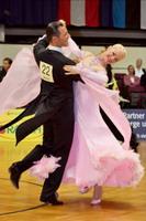 Oscar Pedrinelli & Kamila Brozovska at Austrian Open Championships 2006