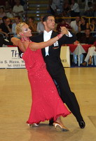 Roberto Villa & Morena Colagreco at 19th Feinda - Italian Open 2002