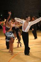 Shota Sesoko & Shizuka Hara at International Championships 2008
