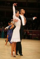 Dorin Frecautanu & Roselina Doneva at International Championships 2008