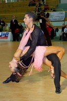Kirill Voronin & Tatyana Kosenko at Latvia Open 2006
