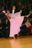 Mark Elsbury & Olga Elsbury at UK Open 2005