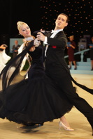 Mark Elsbury & Olga Elsbury at UK Open 2012