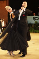 Mark Elsbury & Olga Elsbury at UK Open 2012